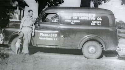 Picture of Original Mangum's Flooring Truck